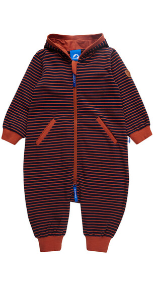 Finkid Chillvi Overall Kids navy/rust